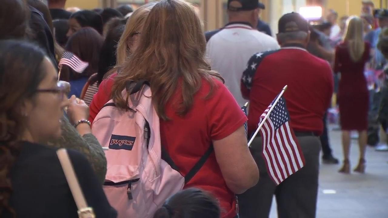 Veterans return from 16th Valley Honor Flight