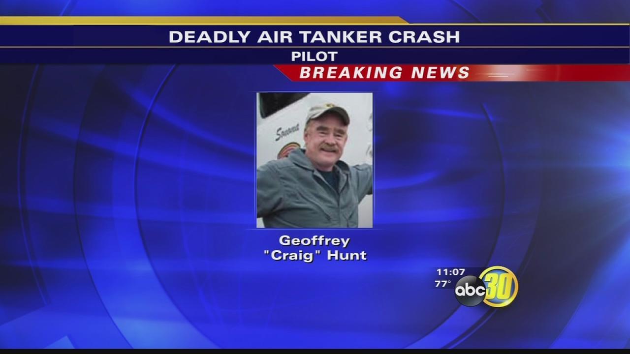 Dog Rock Fire Press Conference on airtanker plane crash