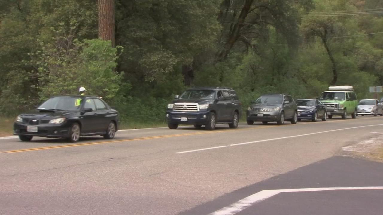 Traffic congestion in Yosemite causing headaches