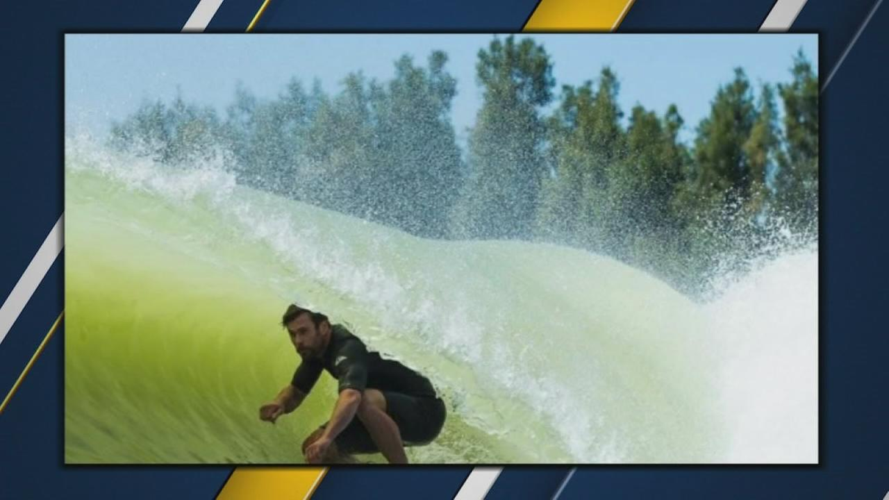 Thor hangs ten at Lemoore Surf Ranch