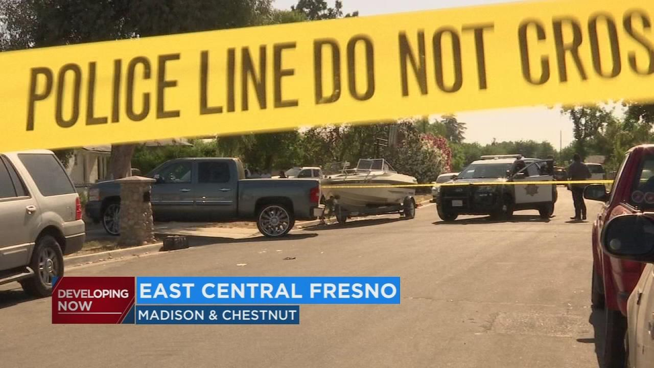 Fresno Police investigating a shooting in East Central Fresno