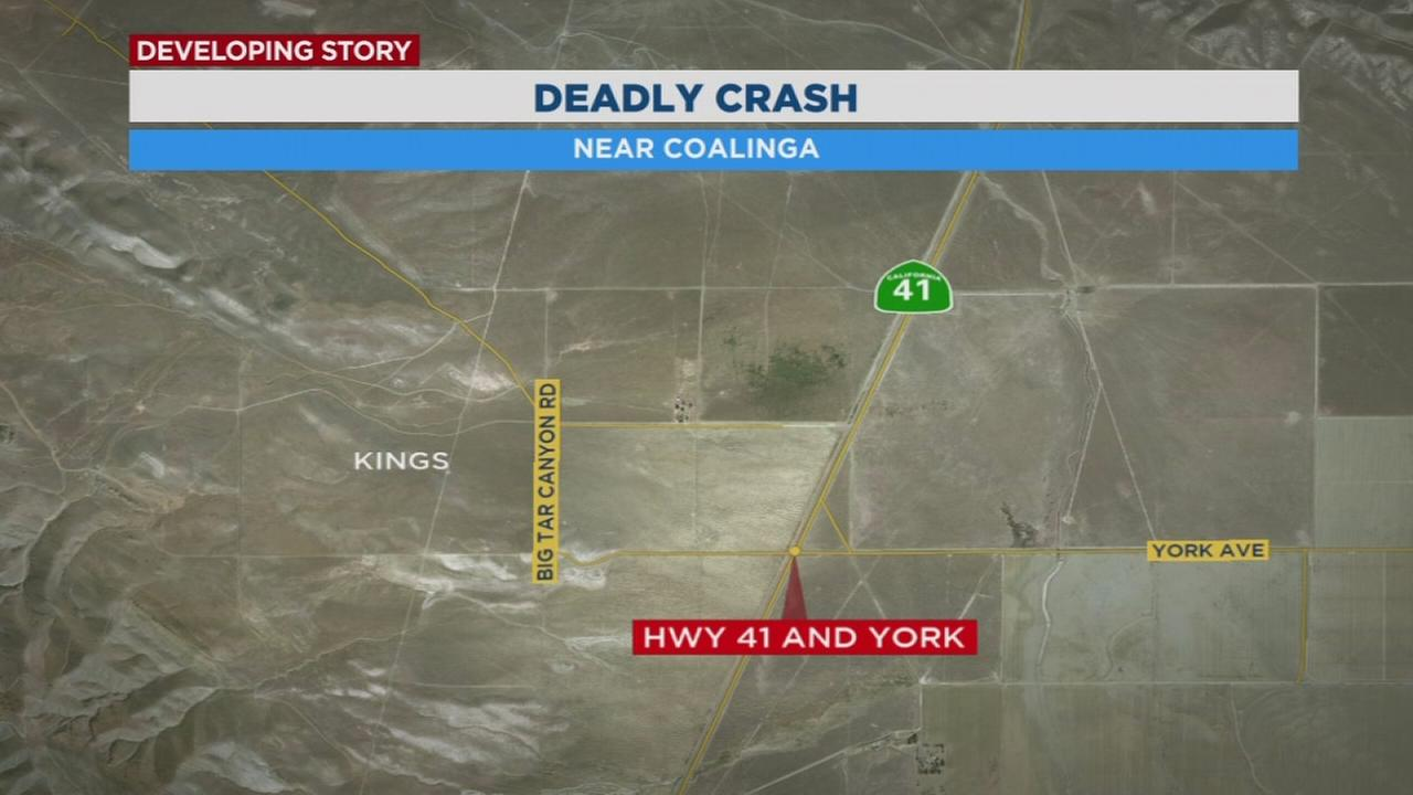 Highway patrol officers investigating cause of a deadly crash near Coalinga