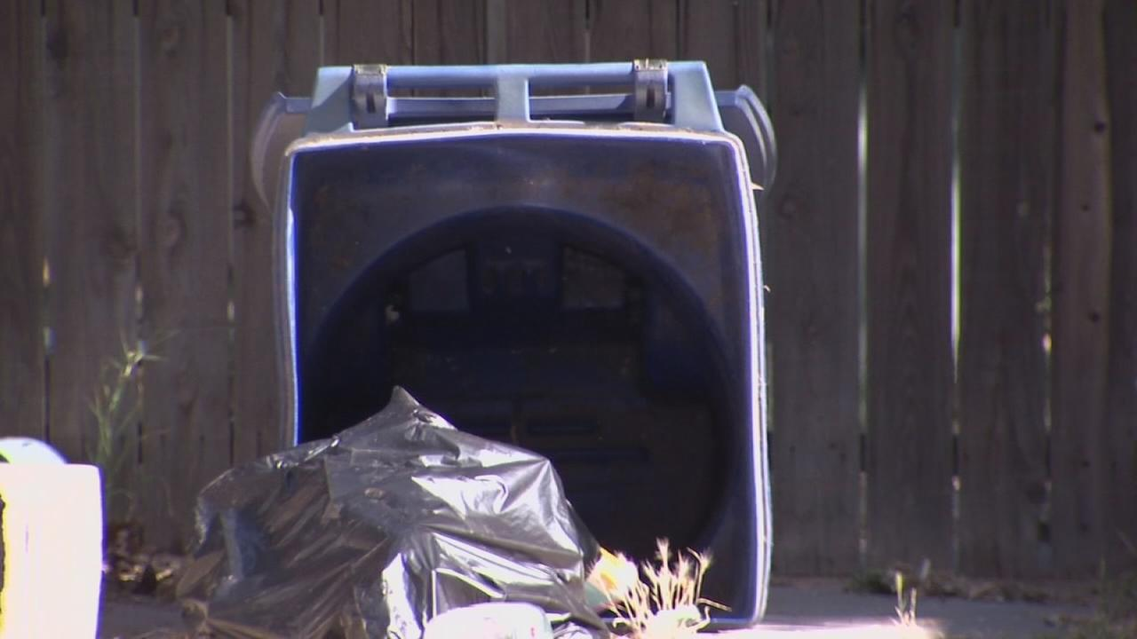 Man who ran from cops in East Central Fresno hides in recycling bin, attacks cops