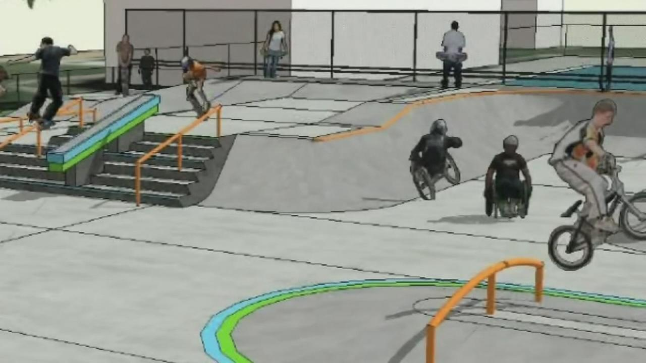 New skate park in the North Valley will be accessable to all