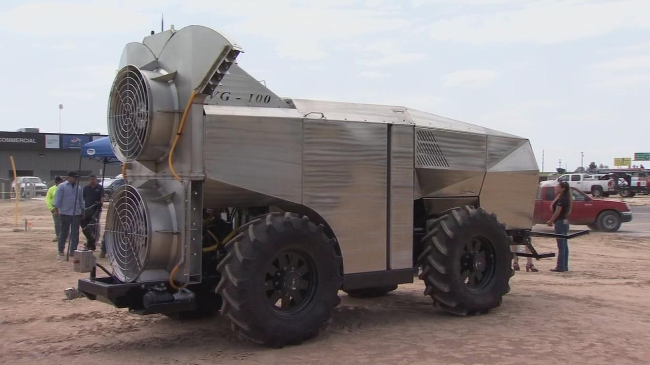 Kingsburg company develops driverless sprayer