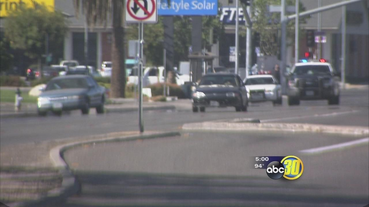 Exclusive video: Social media prompts car chase
