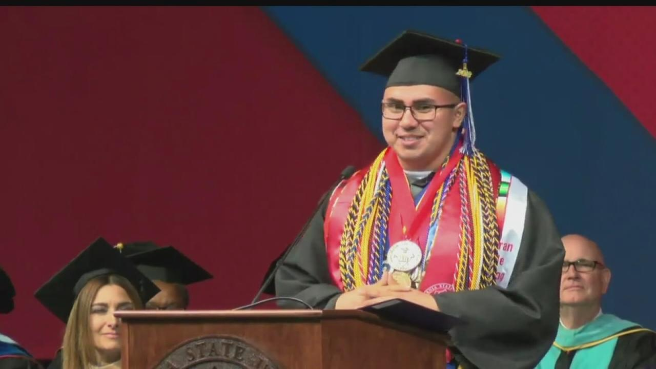 Record number of diplomas handed at Fresno State