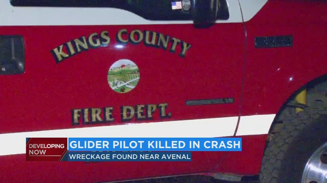 Police release name of pilot on board glider that crashed near Avenal