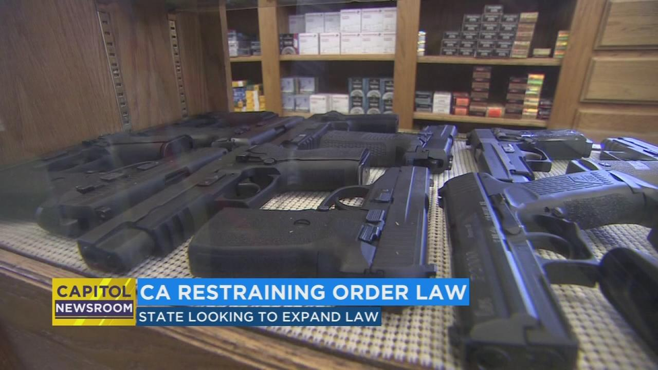 New bill will allow California to expand gun restraining order law against people who show signs of violence