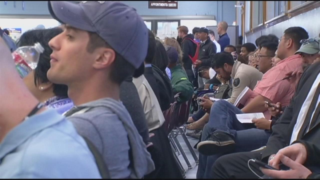 Drivers experiencing longer wait times at DMV offices