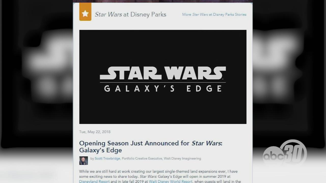 Disney announces opening season of Star Wars Galaxys Edge parks