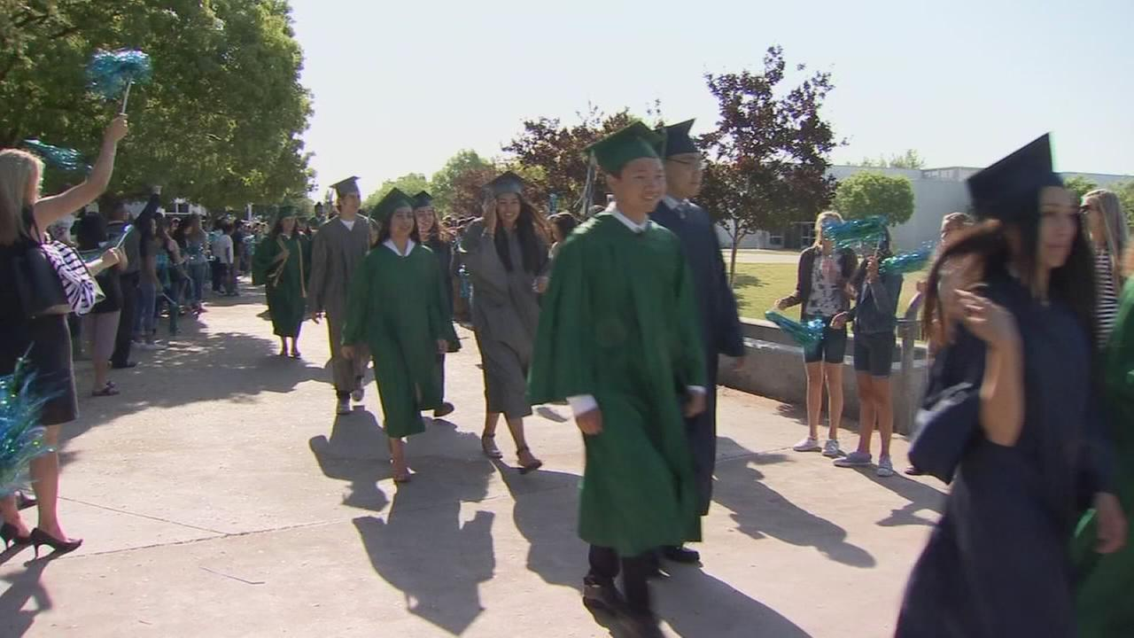Special day for Clovis East High School seniors