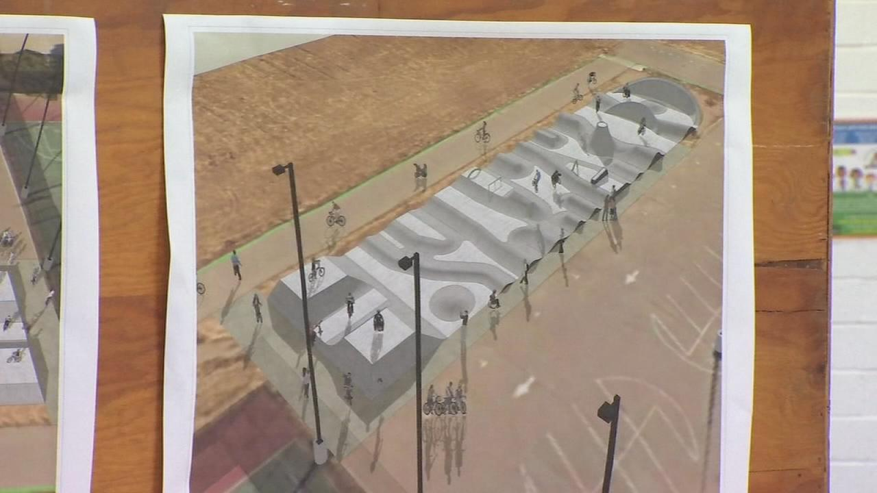 Sneak peek at new BMX/skate park for Southwest Fresno