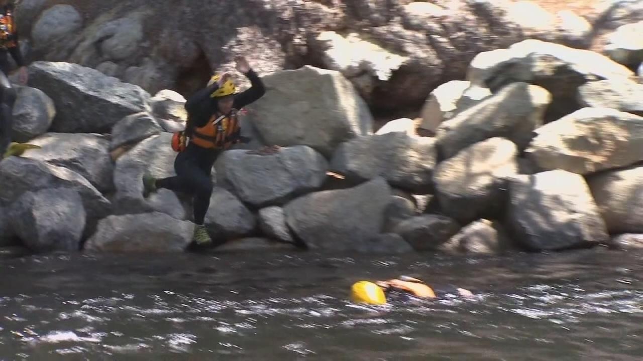 Yosemite search and rescue team getting ready for busy weekend