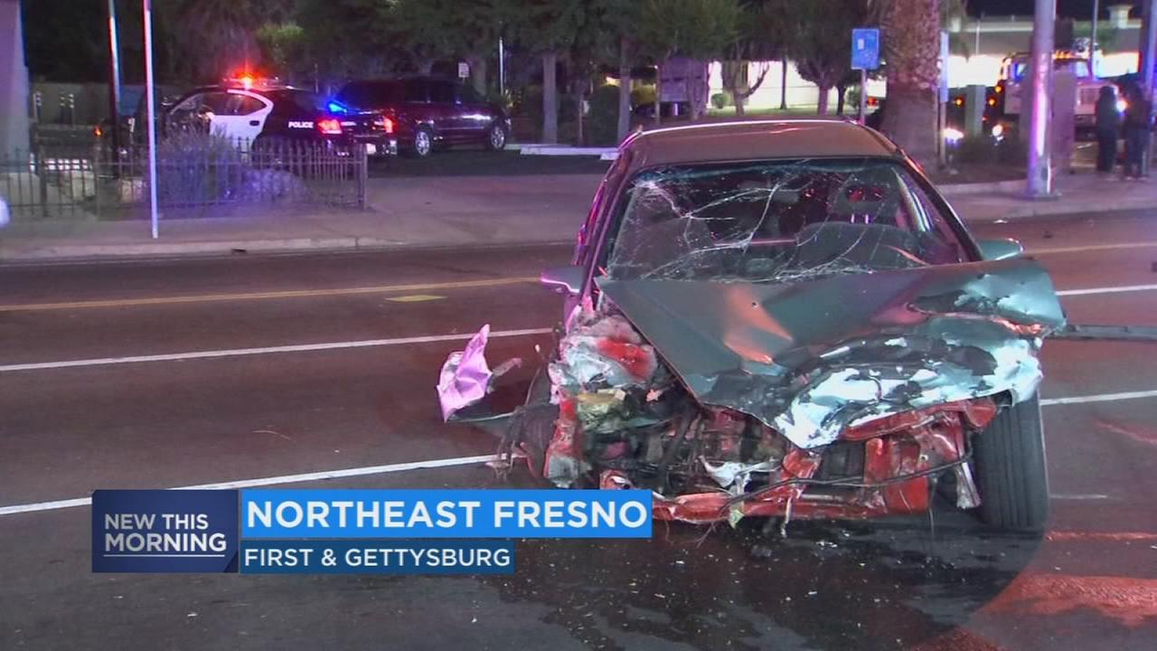 1 person injured and one arrested after hit and run in Northeast Fresno