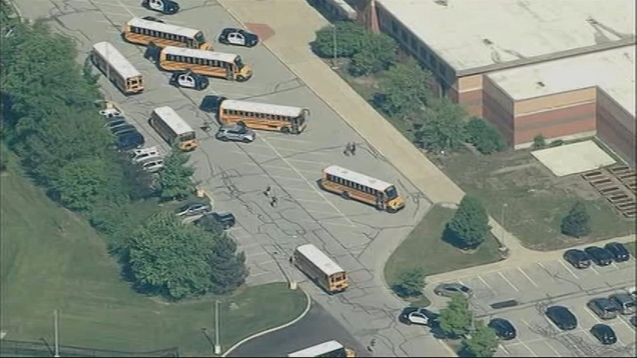2 head to hospital, shooter taken into custody at Indiana middle school