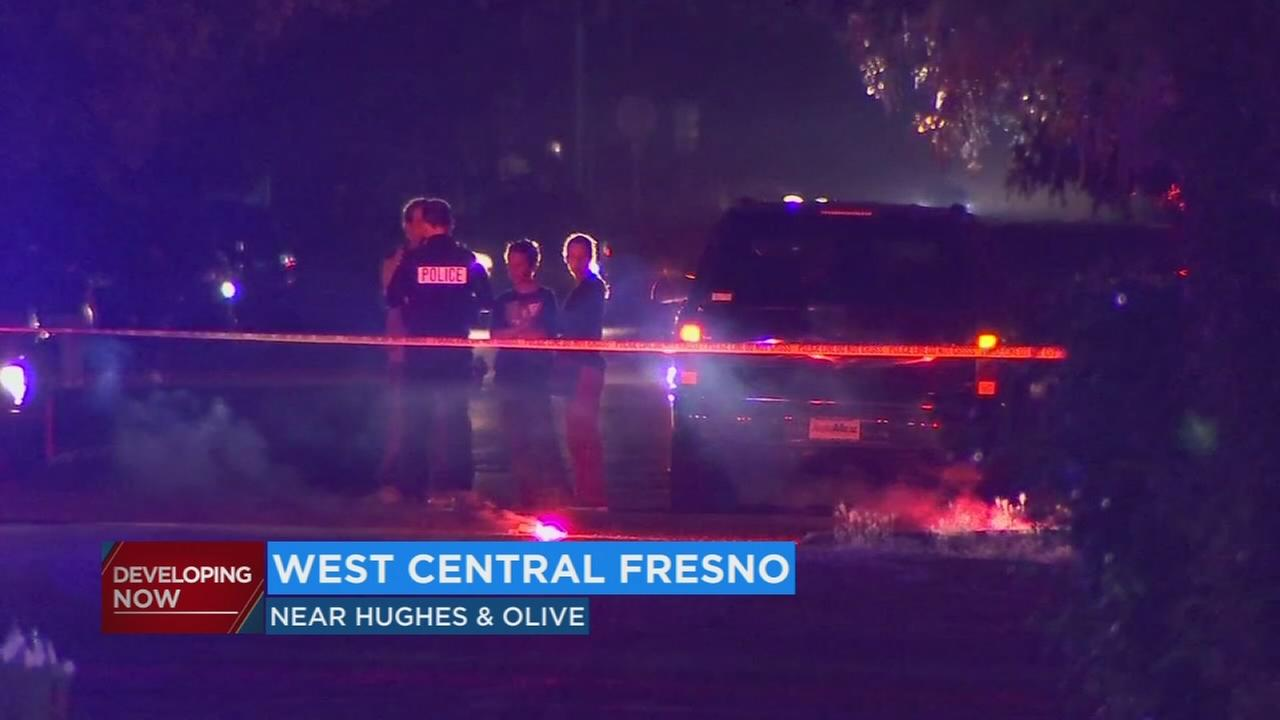 Fresno Police searching for hit and run driver who left pedestrian in critical condition