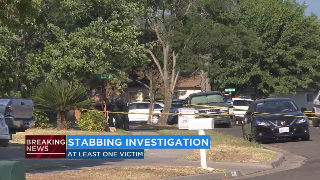 Police investigate stabbing in Clovis