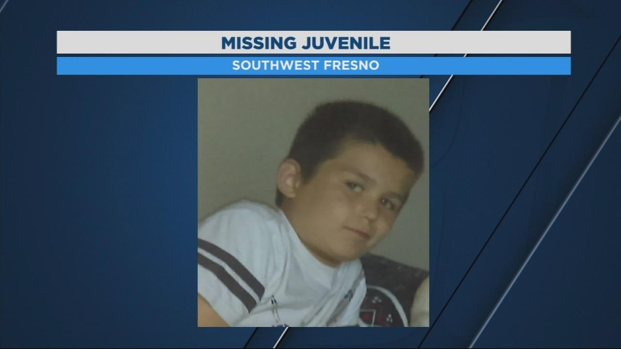 Fresno Police searching for missing 8-year-old boy