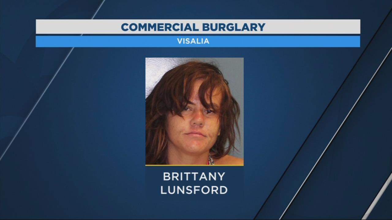 Visalia Police arrest suspect after breaking into local business