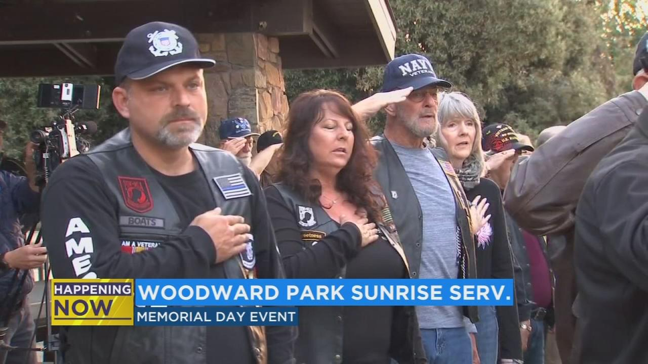 Memorial Day event at Woodward Park