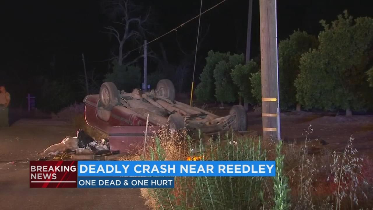 One dead, one injured in Fresno County crash