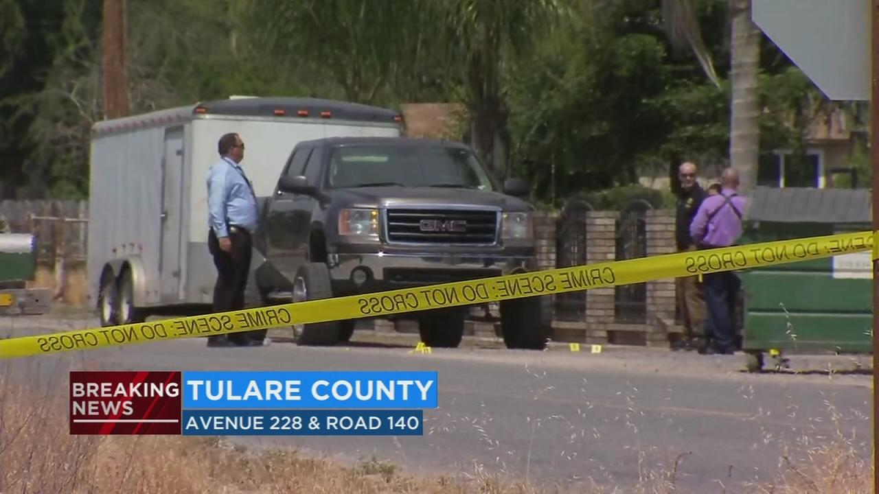 Man killed in Tulare County shooting