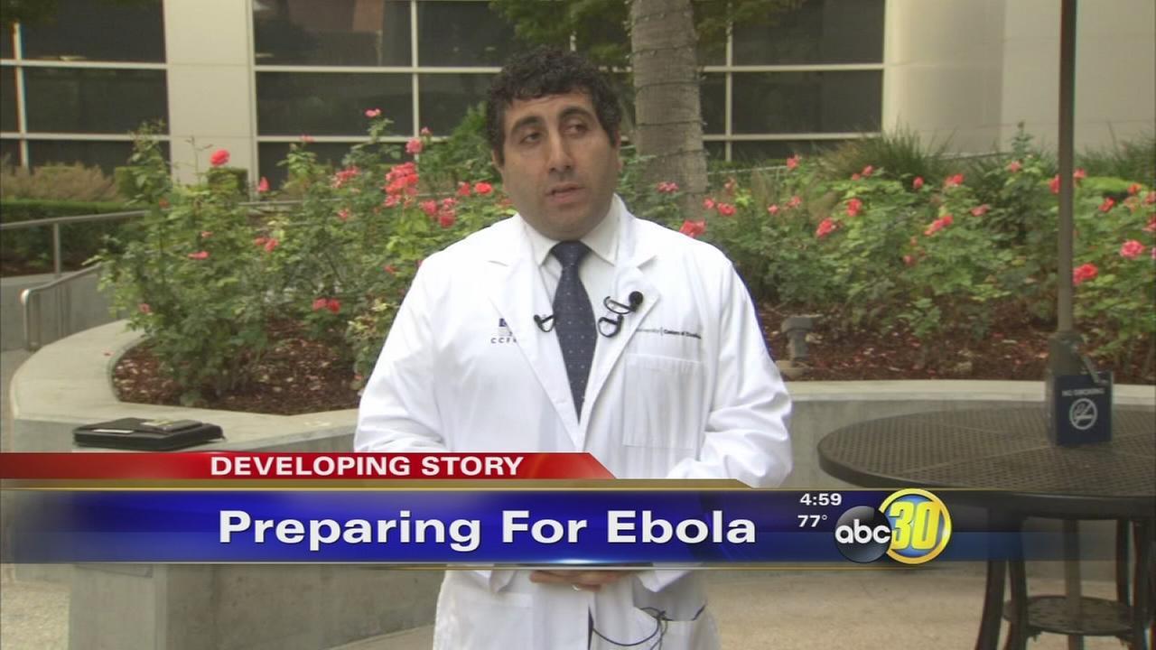 ebola crmc