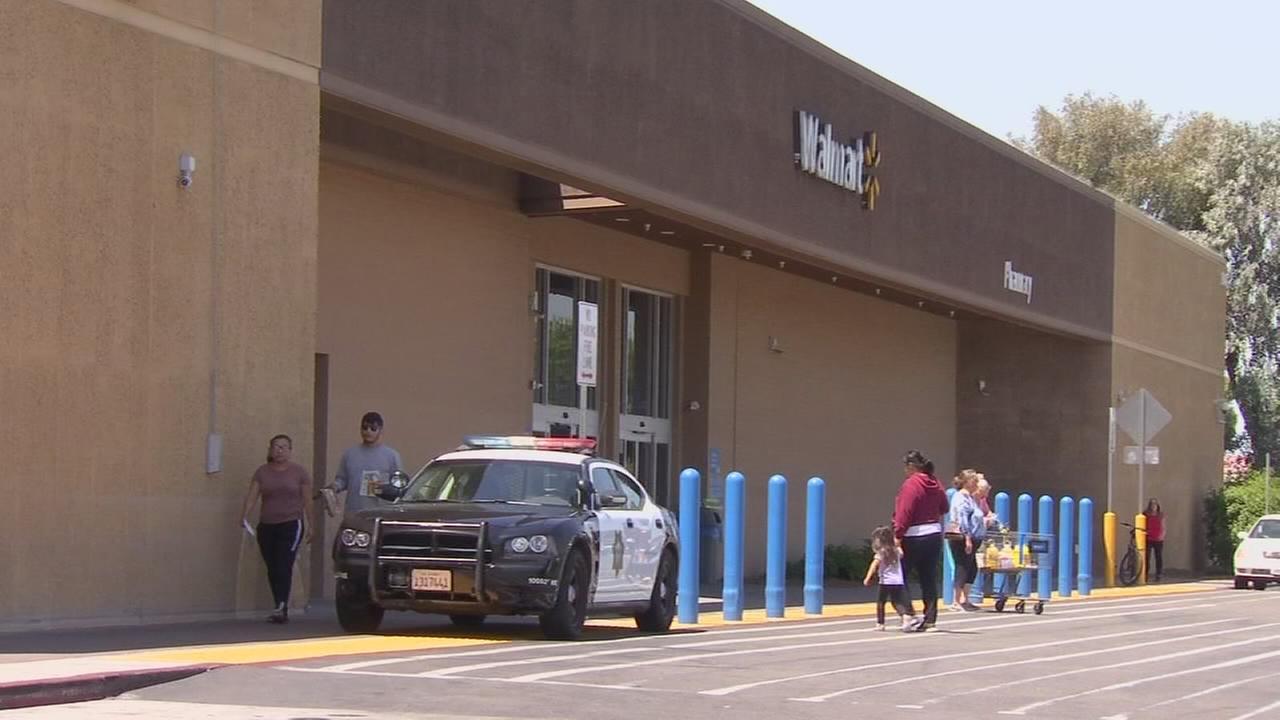 Fresno Police patrolling Walmart stores