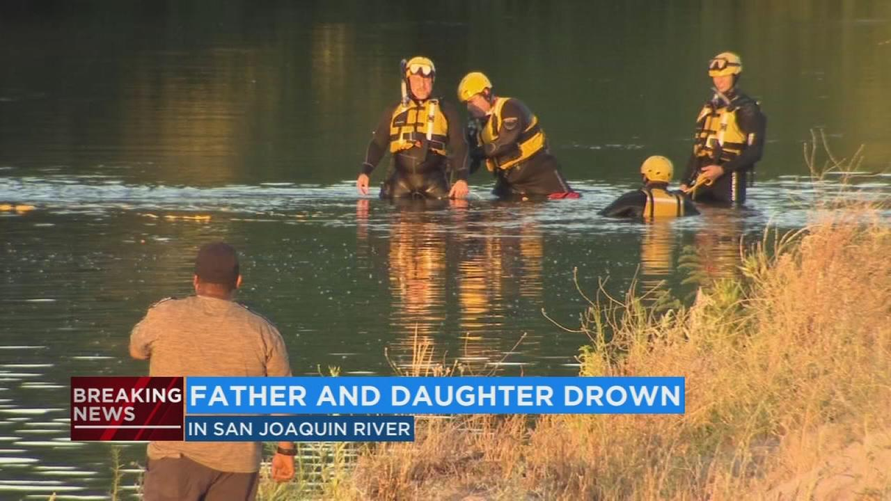 Father and daughter drown in San Joaquin River