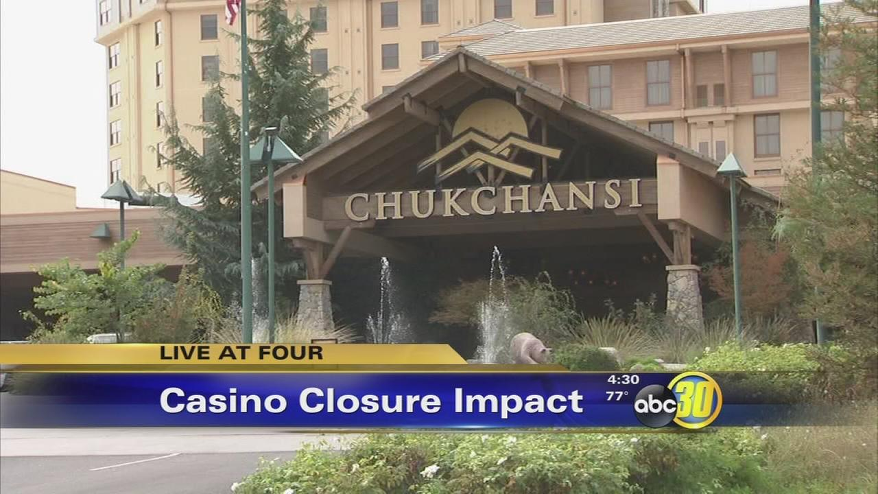 Chukchansi workers get extra pay but shutdown pays off for other casinos
