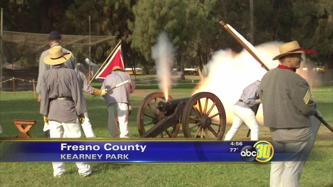 25th annual Civil War Revisited gets underway in Fresno County