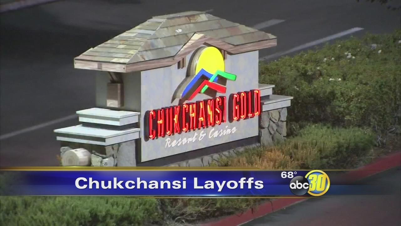 Chukchansi Casino lays off most of 1,300 employees