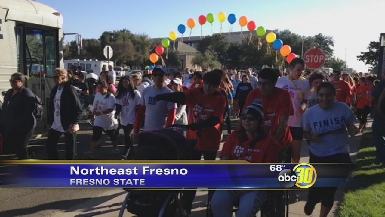 Hundreds Walk Like MADD at Fresno State