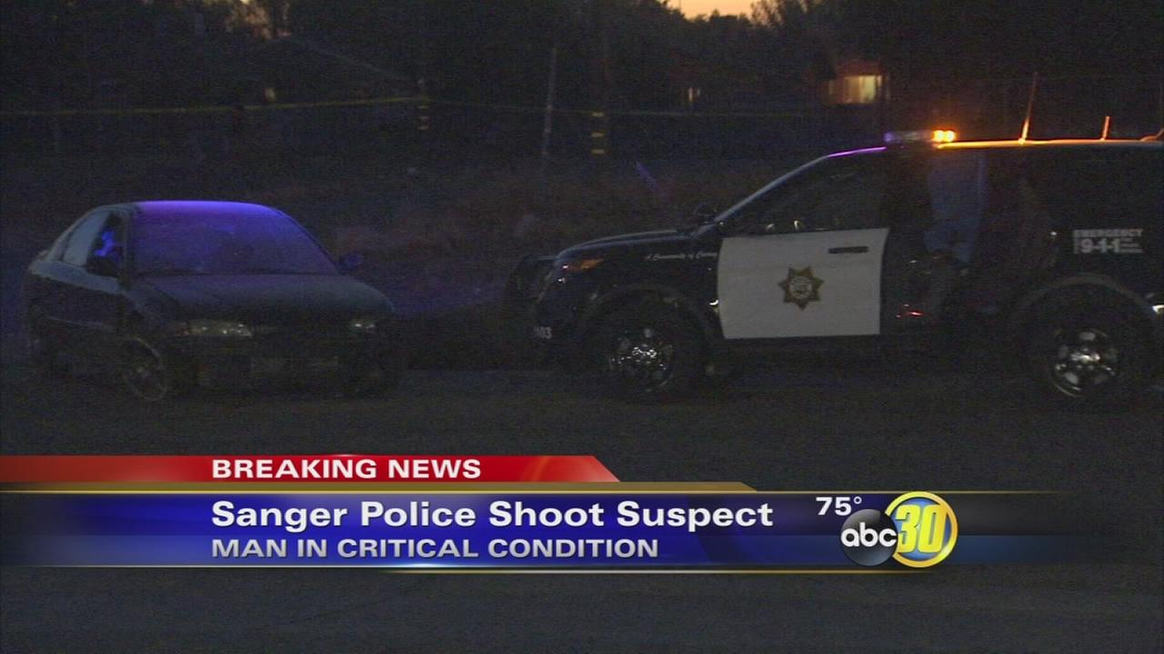 Sanger officer-involved shooting leaves man critical