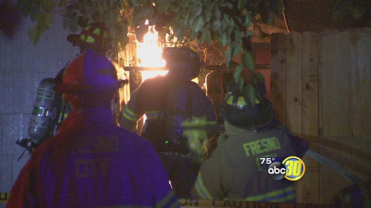 Southeast Fresno fire sends 1 person to hospital