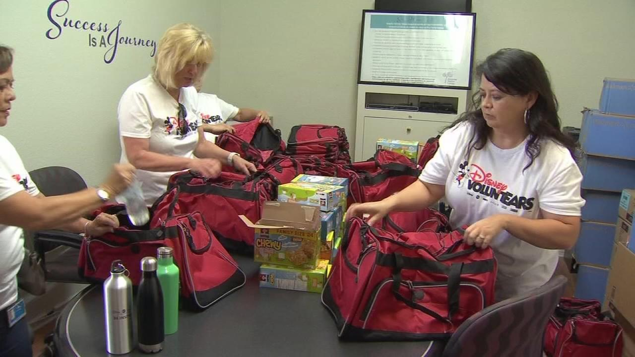 Disney employees give back with VoluntEARS program