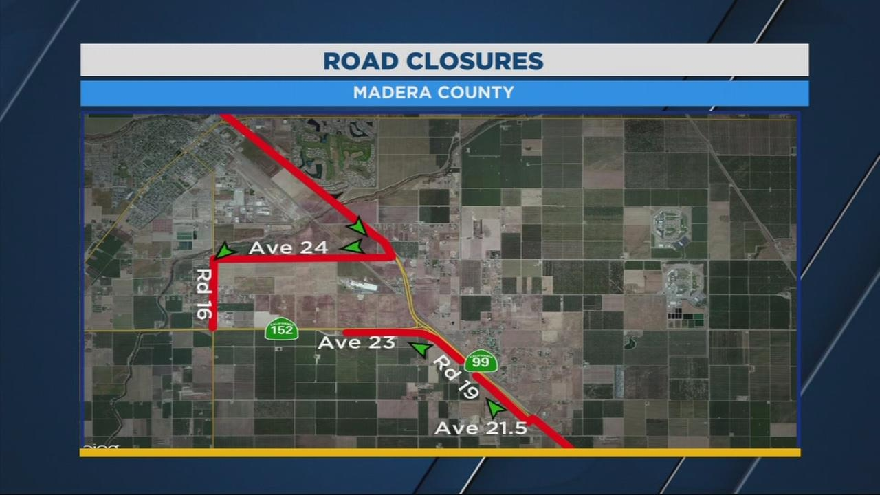 North Valley road closure could affect your commute this weekend