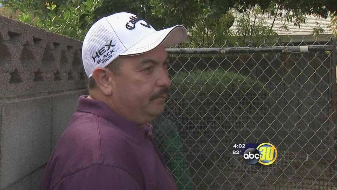 Action News talks with Fresno man who carried father from inferno