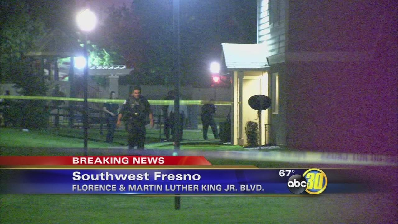 Man shot several times at SW Fresno apartment complex