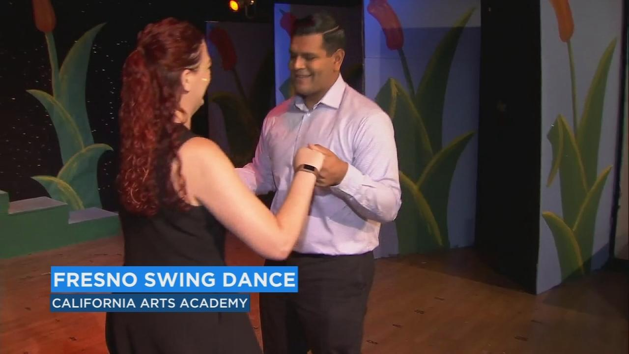 Calling all hepcats, a Fresno group is kicking up a good time with swing dancing lessons