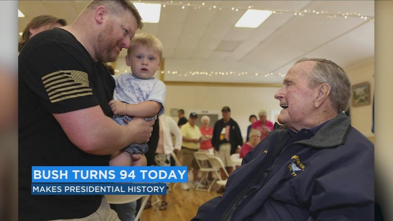 George H. W. Bush turns 94