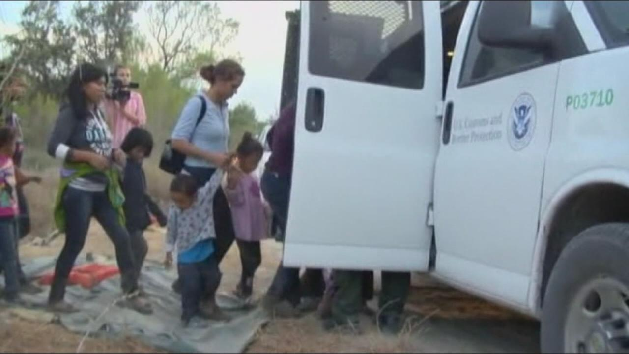 Trump Administration zero tolerance police at Mexico border results in parents separated from their kids
