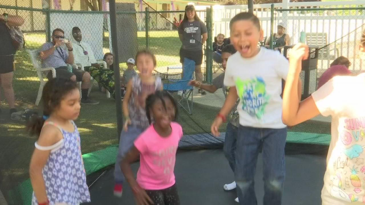 Champ Camp helping kids with serious burn injuries