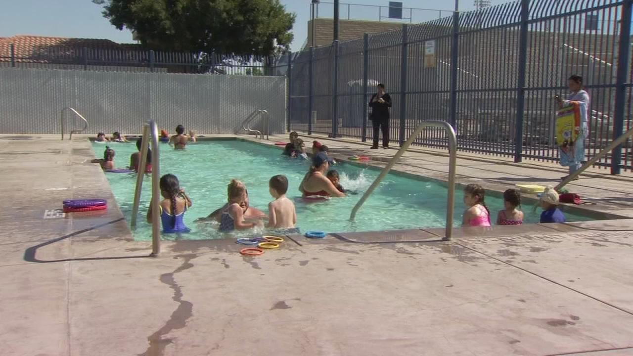 Fresno Unified open pools for swimming and lessons during summer