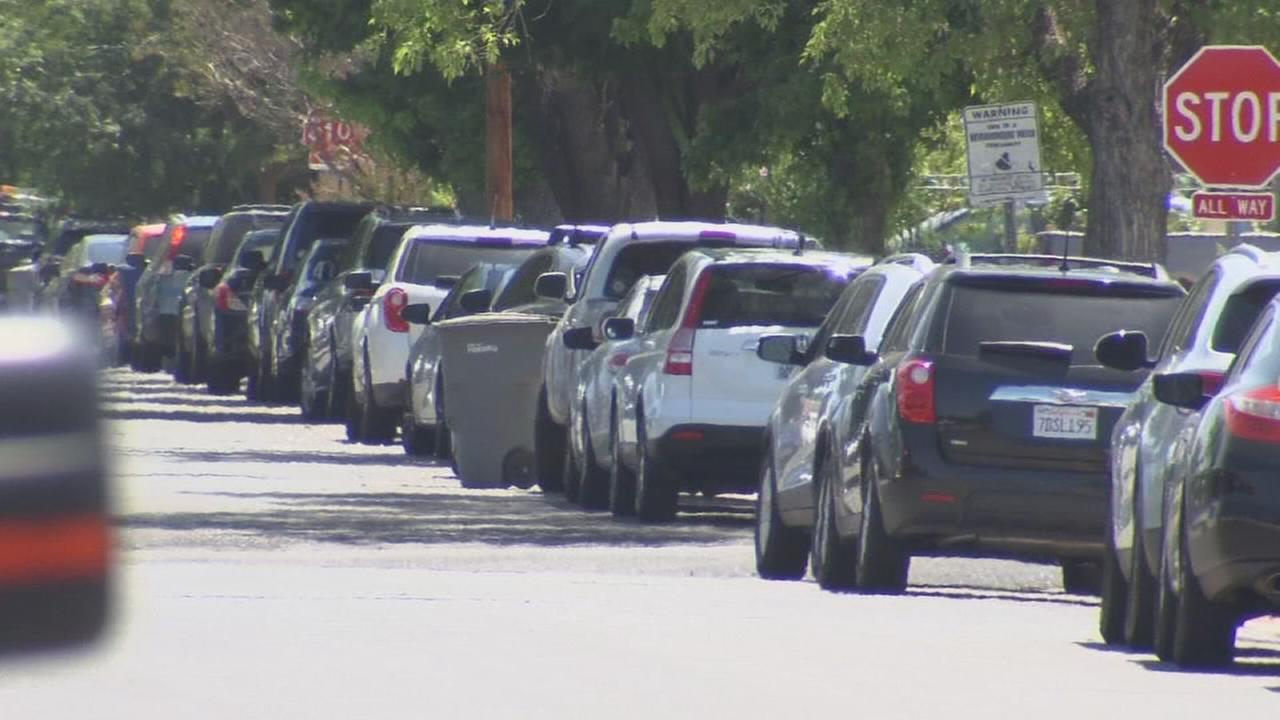 Overflowing VA parking leads Fresno to start permit program