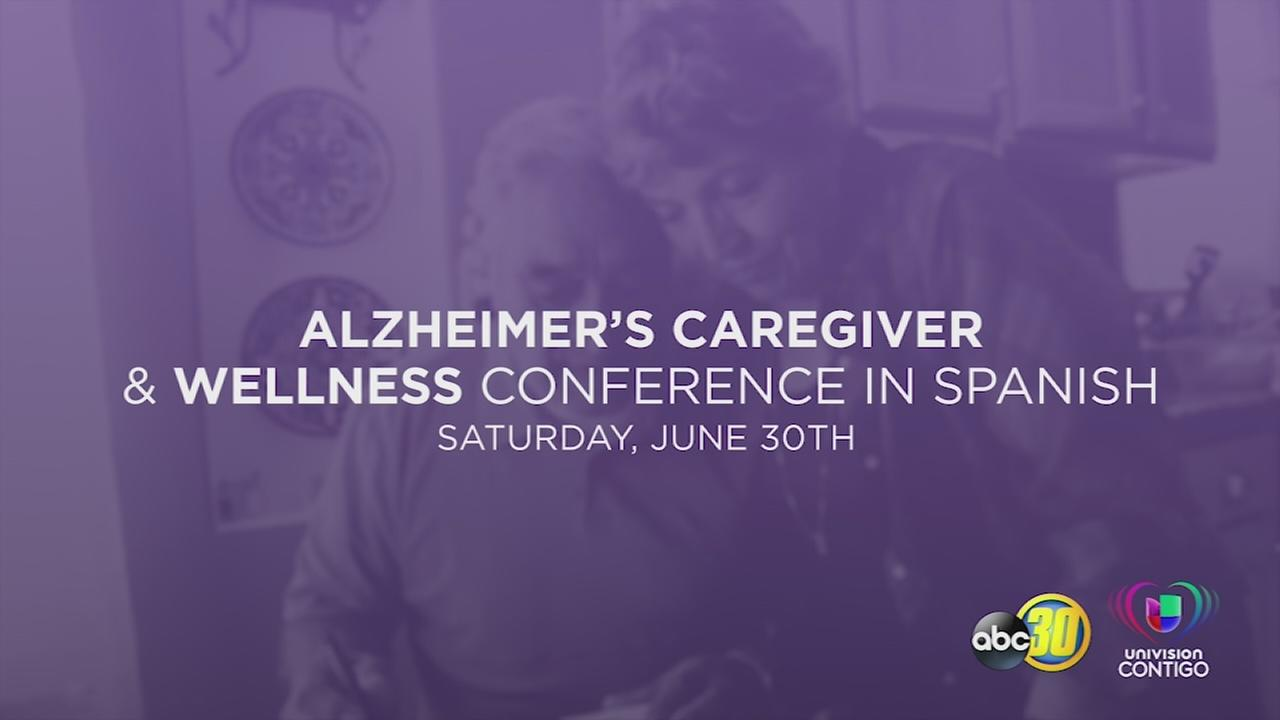 Sign up for the Central Valley Alzheimers Caregiver and Wellness Conference in Spanish