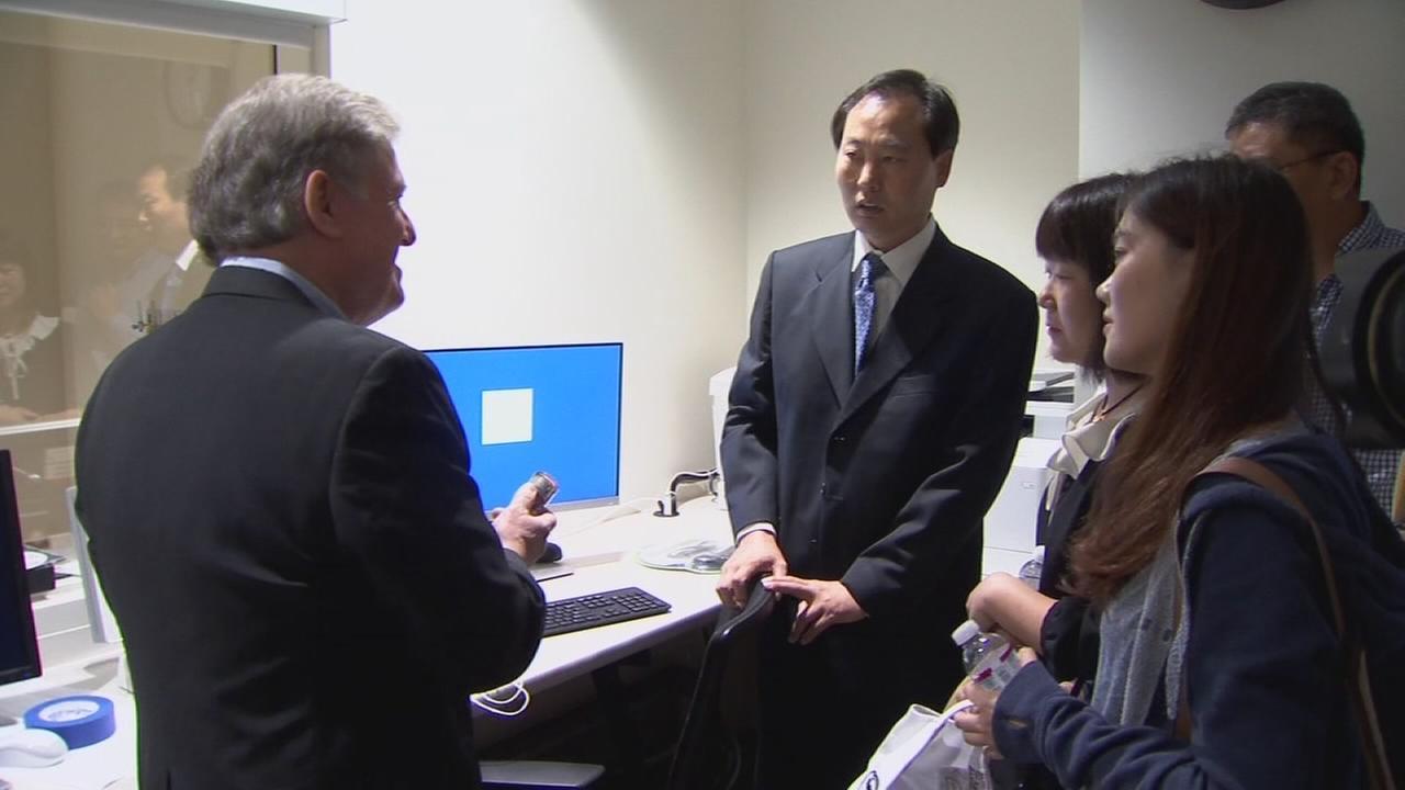 Clovis hospital hosts medical delegation from China
