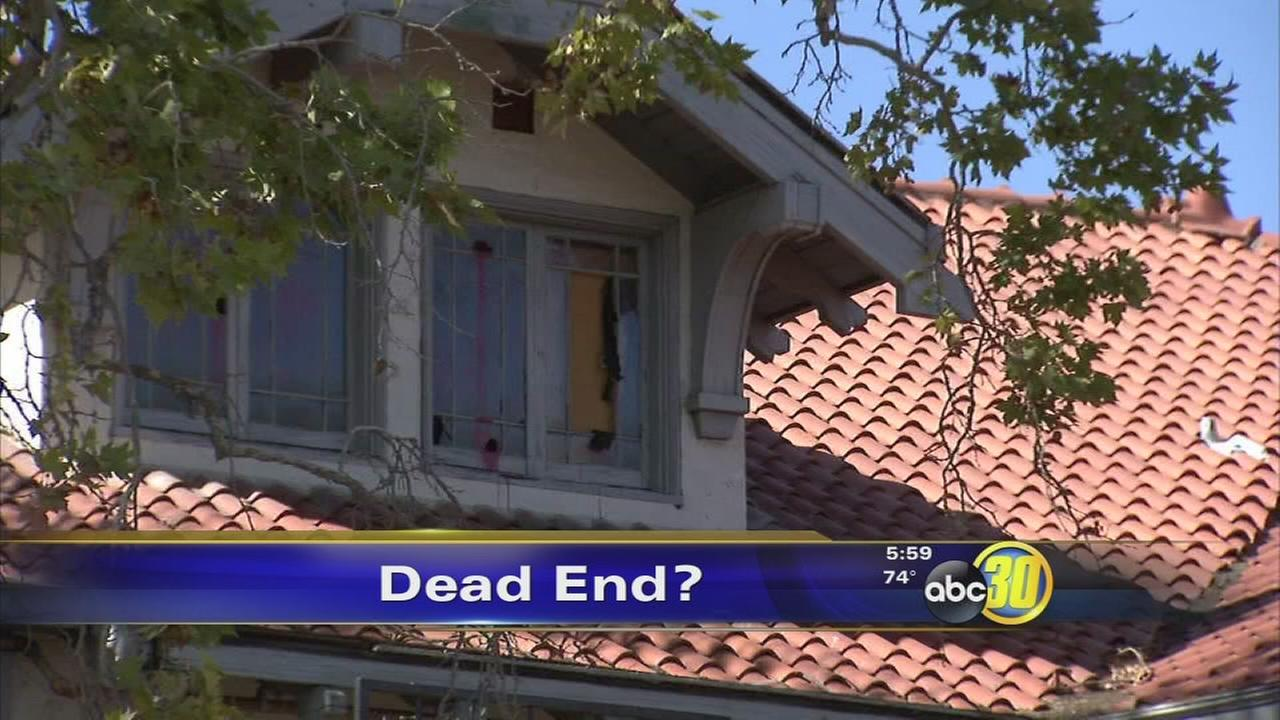 Haunted Wolfe Manor mansion in Clovis to be demolished