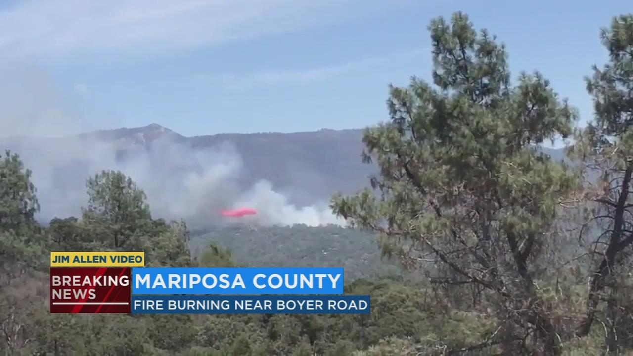 Evacuations ordered for wildfire burning in Mariposa County